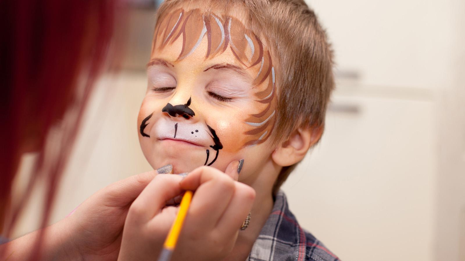 Maquillaje De Carnaval Para Niños Seguro Ocu