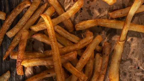 acrilamidas en patatas fritas