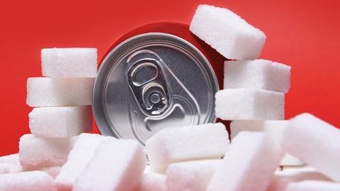 Azúcar latas