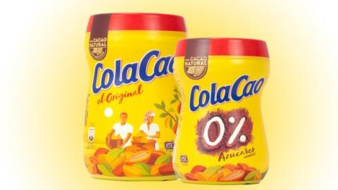 cola cao etiqueta nutricional