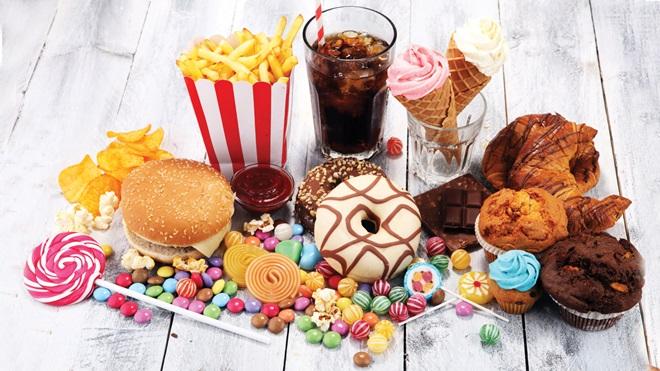 Resultado de imagen de alimentos con azucar