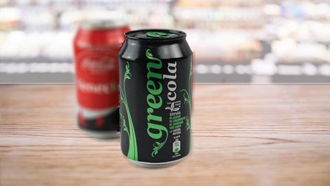 Green Cola etiqueta