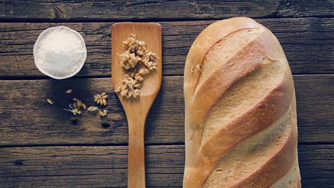 Sal en el pan