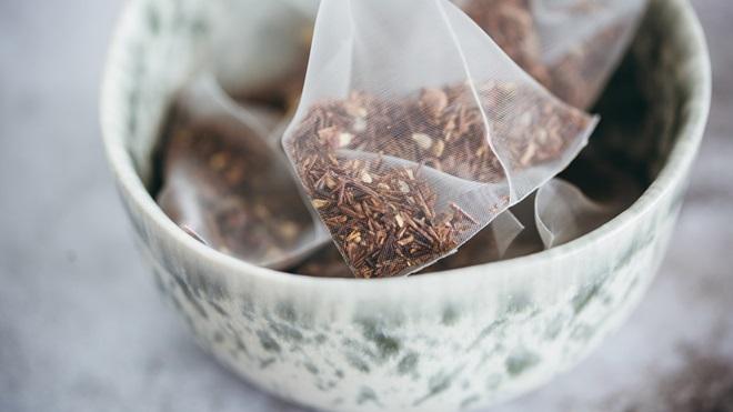 Microplásticos en las bolsitas de té