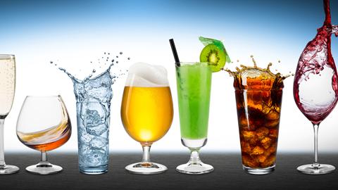 encuesta de bebidas