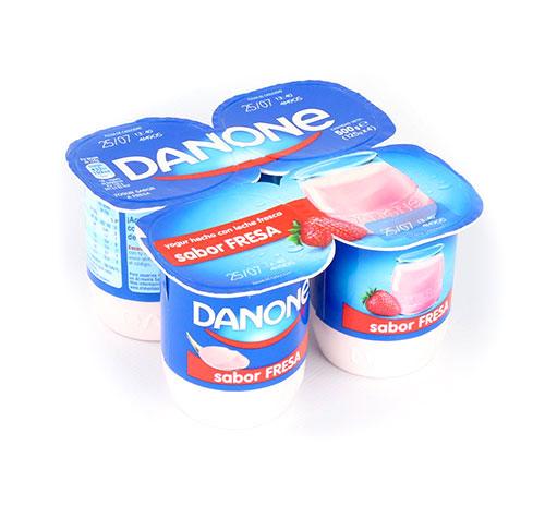 danone sabor fresa yogur con aromas pero sin fruta