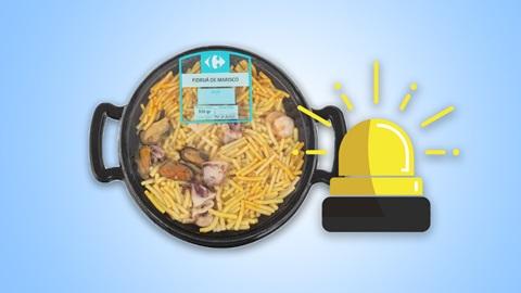 """alerta para celíacos: error en etiquetado de fideuá """"sin gluten"""""""