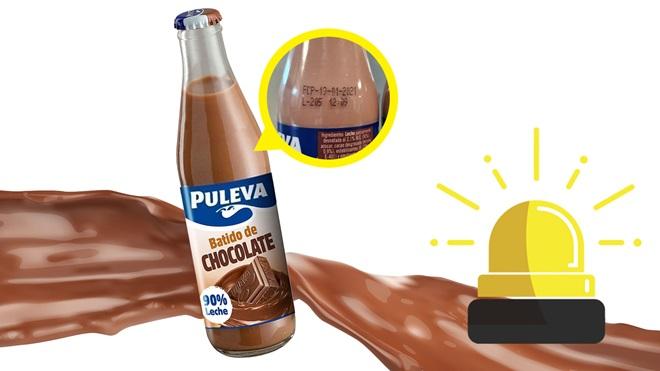 """Alerta: gluten en batido de chocolate Puleva """"sin gluten"""""""