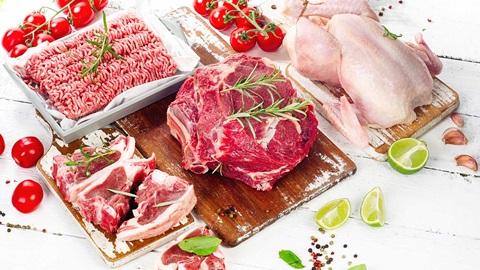carne, ternera, pollo