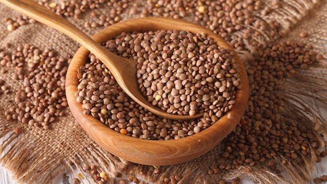 Lentejas con algún grano de cereales