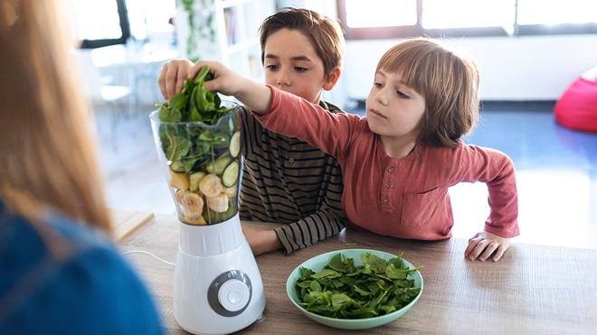 Espinacas y niños: cuidado que llevan nitratos