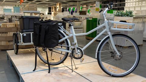 Retirada bicicleta Ikea