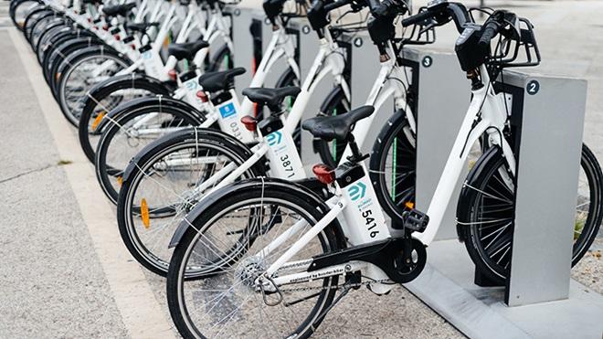 estacion de alquiler de bicicletas