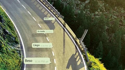 uso móvil accidentes tráfico
