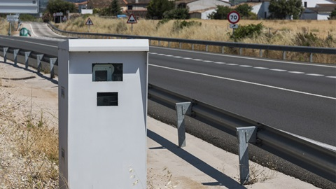 radares en carreteras