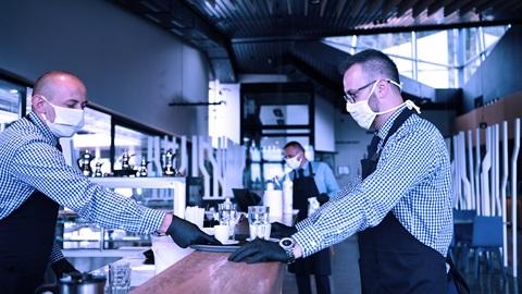 Medidas de seguridad frente al coronavirus en bares y restaurantes