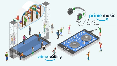 amazon prime reading and music