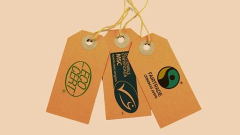 Ecoetiquetas certificadas