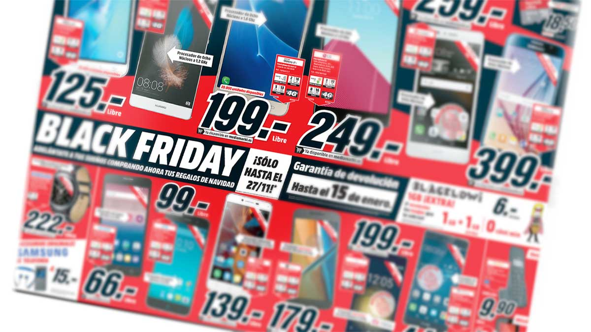catalogo black friday media markt blurred