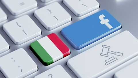 Italia sanciona a Facebook