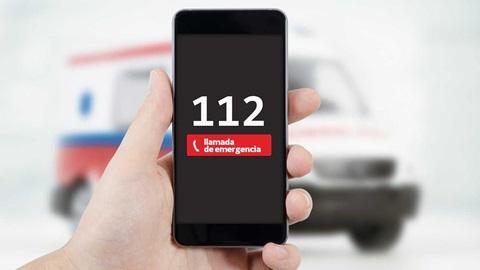 Llamada emergencia 112