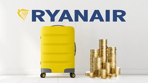 Ryanair cobrará por tu euipaje de mano