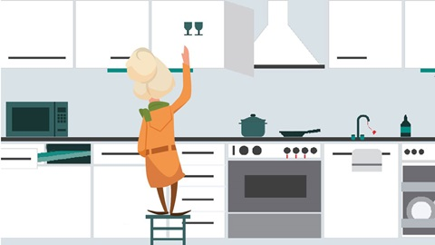 cocinas adaptadas para mayores