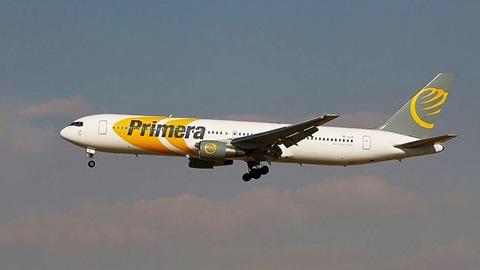 Quiebra de la compañía Primera Air