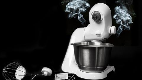 Robot de cocina peligros