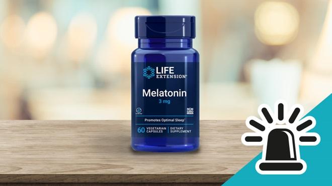 alerta melatonina ilegal