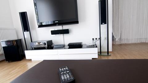 Televisión altavoces