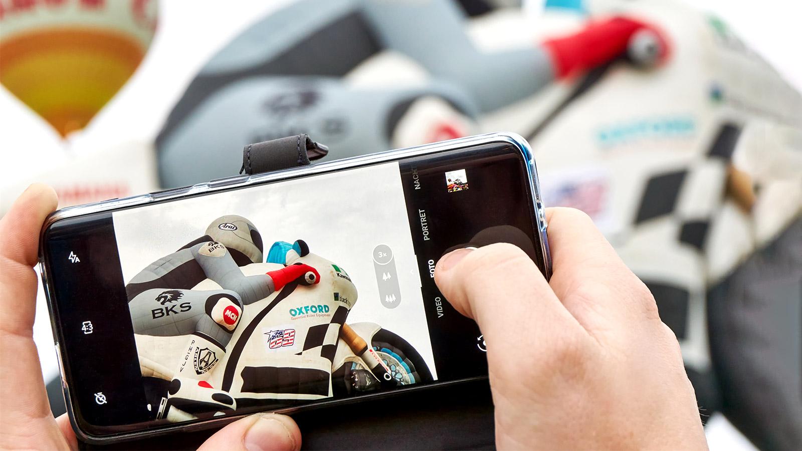 Las cámaras de los móviles
