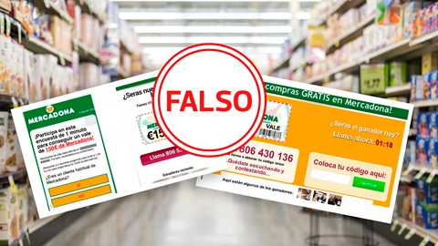Falso sorteo Mercadona