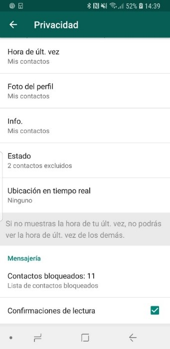Quitar doble clic WhatsApp