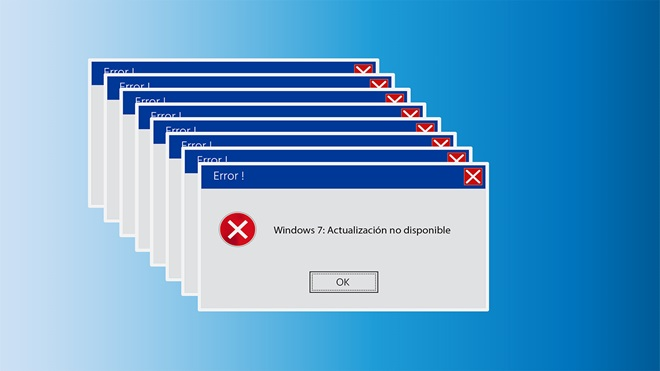 Fin actualización Windows 7
