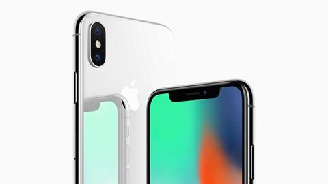Iphone X lanzamiento novedad foto de apple uso editorial