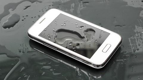 Protección IP móvil agua
