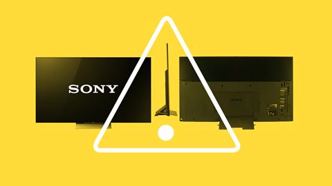 Fallo televisores Sony