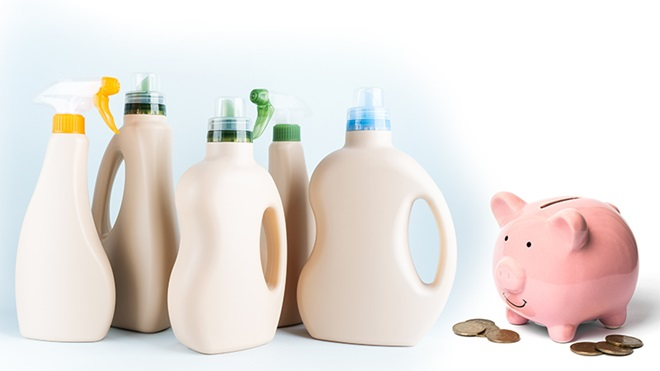Precio de detergentes ecológicos