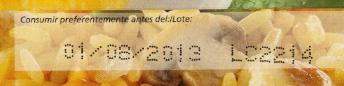fecha caducidad etiquetas alimentos
