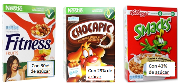 azucar cereales