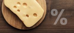 Grasa en quesos
