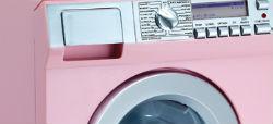 Lavadora rosa