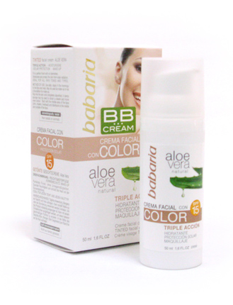 bb cream color babaria