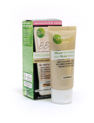bb cream color garnier