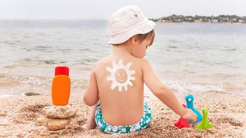 Cremas solares infantiles